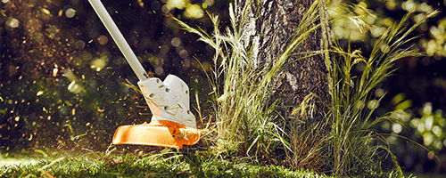 stihl battery trimmers