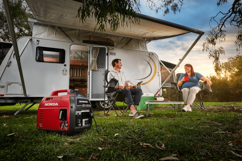 Honda EU22i Generator for camping and back up power