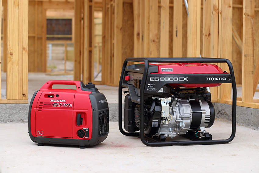 Honda generators at Rimrock Agencies