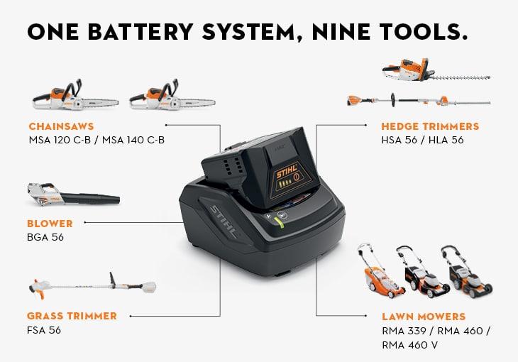 Compact battery STIHL